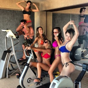 Dan Bilzerian believes in fitness.